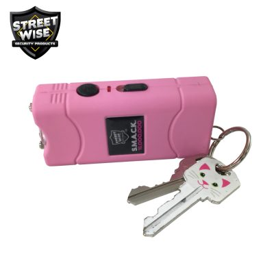 Streetwise SMACK stun gun pink - with keys