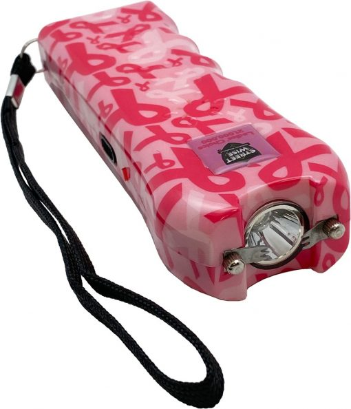 Streetwise Security Ladies' Choice stun gun - Pink Ribbon color 2