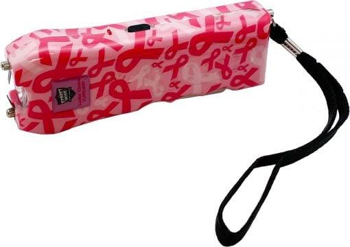 Streetwise Security Ladies' Choice stun gun - Pink Ribbon color