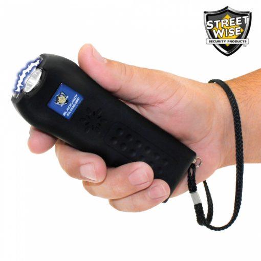 Streetwise Security Black Jack stun gun SWBJ21BK - in hand