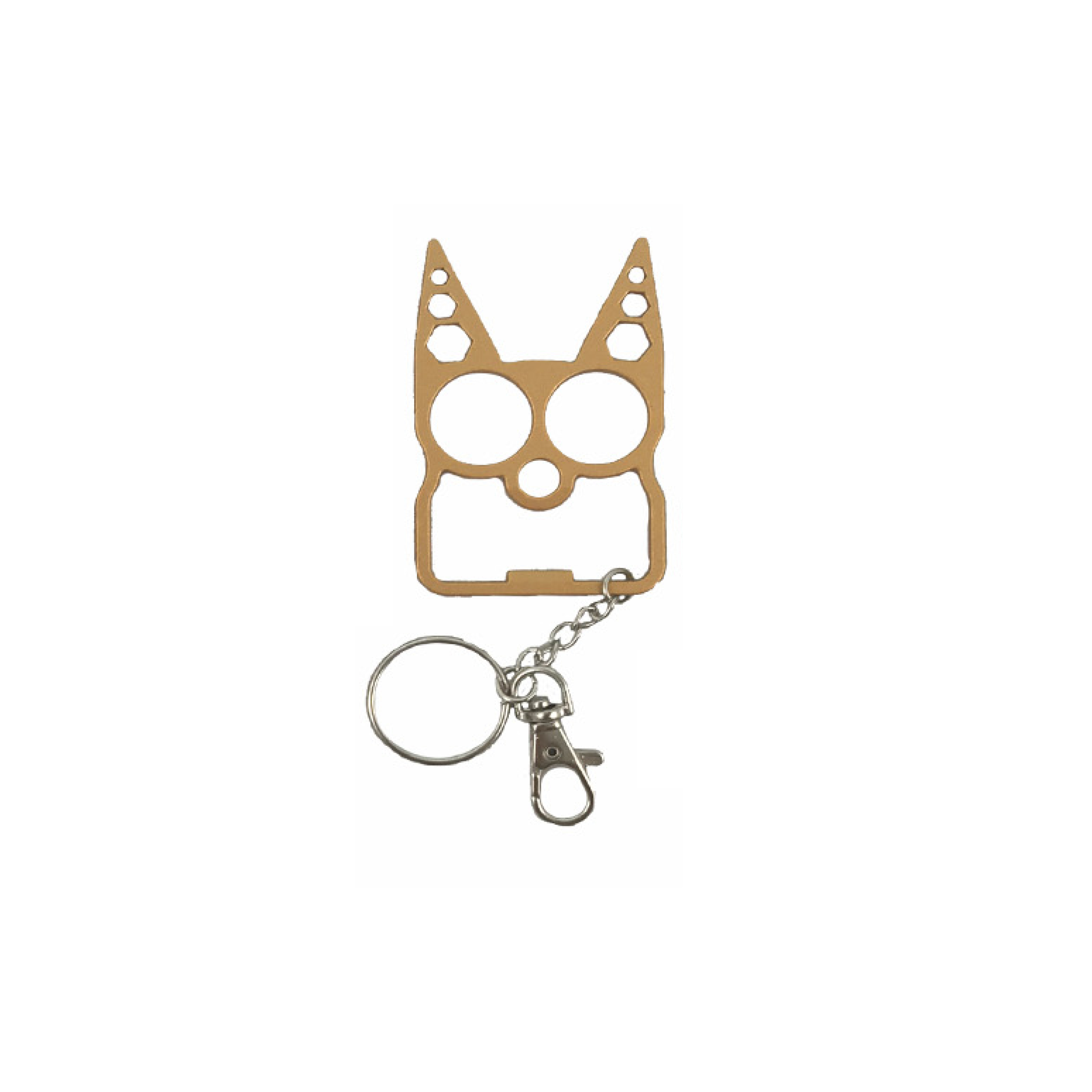 Fdp Cat Tactical Defense Keychain 6 Colors Female Defense Products