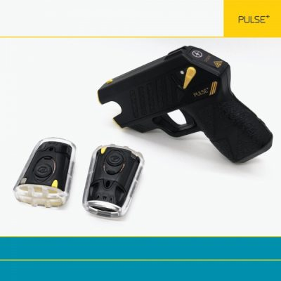 Taser Pulse Plus black with cartridges