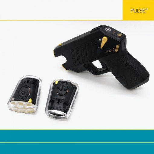 Taser Pulse Plus black with cartridges