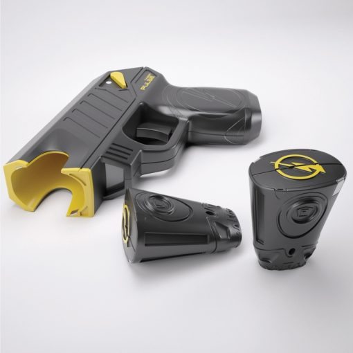Taser Pulse Plus with cartridges open