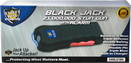 Streetwise Security Black Jack stun gun SWBJ21BK - in box