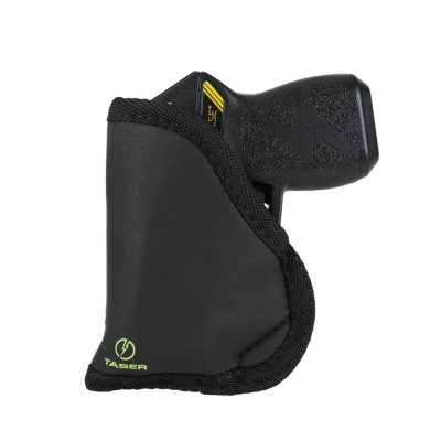 Taser Pulse Plus Inside Waistband Holster - front with taser